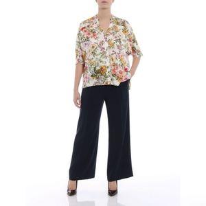 Designer ASPESI Wide Leg Trousers